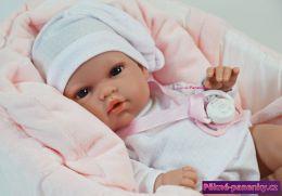realistická dětská panenka miminko, dětská mini panenka