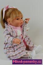 originalní španělské panenky pro děti realistická mluvící panenka s dudlíkem, panenky akce Berbesa mluvící panenky ze Španělska pro děti