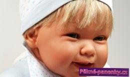 originalní španělské panenky pro děti realistická panenka chlapeček Antonio Juan jako živý, panenka chlapec mluvící panenky ze Španělska pro děti