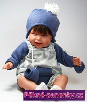 Veká panenka kluk Antonio Juan® Rubio 52 cm