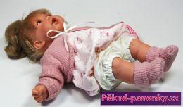 originalní španělské panenky pro děti realistické dětské česací španělské panenky s vlasama, panenky jako živé miminko Antonio Juan mluvící panenky ze Španělska pro děti