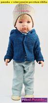 realistické španělské panenky s vlasy Antonio Juan, panenky jako živé miminko