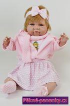 originalní španělské panenky pro děti velká realistická hadrová panenka miminko 50 cm, španělské panenky jako živé Berbesa mluvící panenky ze Španělska pro děti
