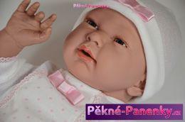 originalní španělské panenky pro děti velká, realistická panenka miminko, realistické panenky 50 cm Arias mluvící panenky ze Španělska pro děti