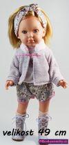 velká realistická panenka s vlasy, která vypadá jako živá
