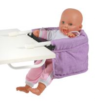 praktická sedačka ke stolu pro panenky