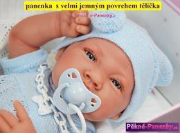 realistické španělské panenky kluci Antonio Juan, panenky jako živé miminko, chlapeček s pindíkem